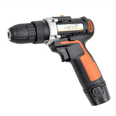 102334 KATSU 12V Lithium-Ion Cordless Drill Driver Twin Battery