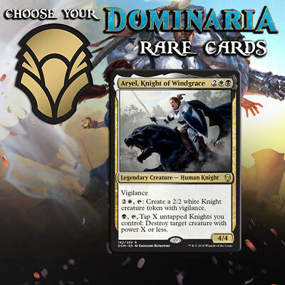 Choose Your Dominaria Rare Cards x1 - DOM MTG M/NM