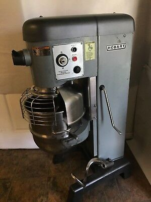 Hobart Floor Mixer D340 New Parts - Dough Hook & Paddle - Works Great- Clean