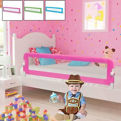 Toddler Safety Bed Rail Kids Child Bed Guard Folding Bed Barrier Blue/Pink/Green