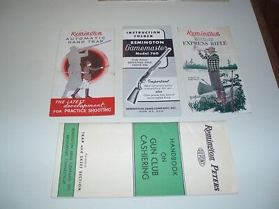 Vintage Sporting Advertising Remington Booklets