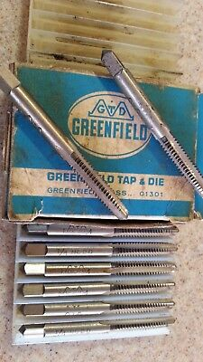 Greenfield Tap 1/4-20 from New Old Stock Factory Package Single Tap No Box USA