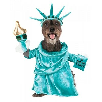 Statue of Liberty Costume Pet 4th of July Fancy Dress