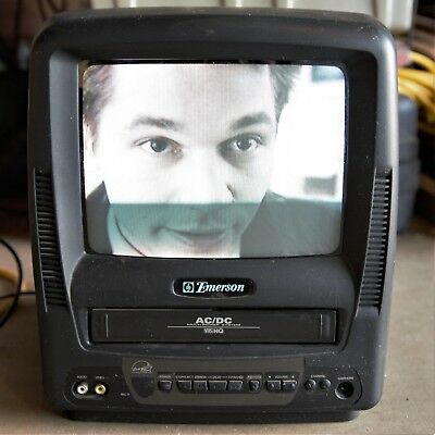 Emerson 9 color tv vcr combo acdc ewc0901 portable tested emerson 9 color tv vcr combo acdc ewc0901 portable tested publicscrutiny Images