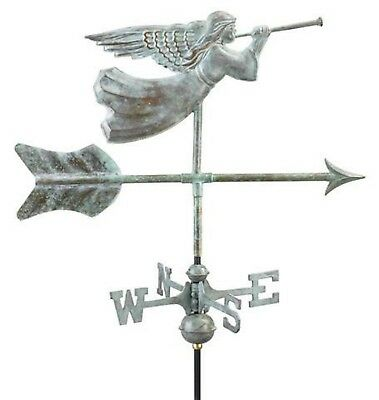 Angel Copper Verdigris  Weathervane