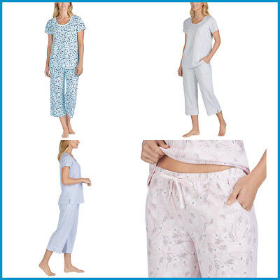 [NO TAX] Carole Hochman Women Ladies' 2-piece Pajama Set, XS - 3X, 4 colors