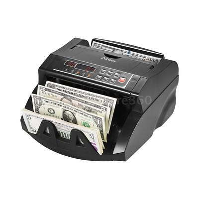 Money Bill Currency Counter Counting Machine Counterfeit Detector UV MG DD N3R9