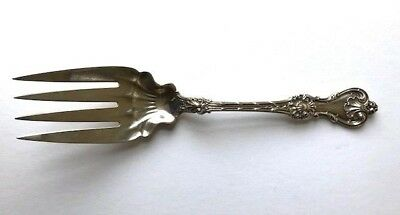 Massive King Edward by Whiting Sterling Silver Serving Fork