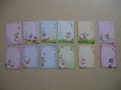 Lot 12 feuilles Diddl format A6