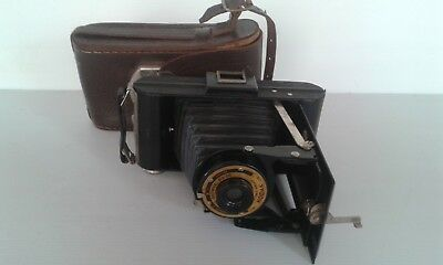 Vintage Kodak Folding Brownie Six-20 Camera