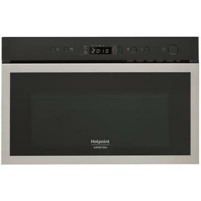 HOTPOINT MH 600 IX Micro-ondes combiné encastrable inox anti-trace - 22L - 750 W