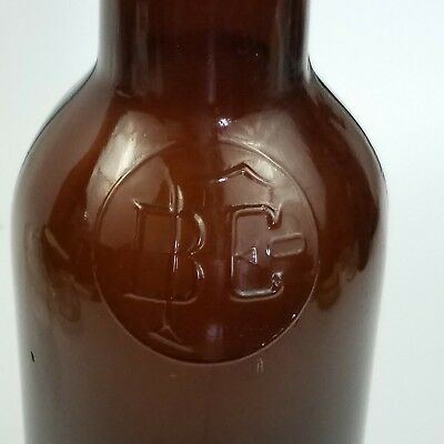Rare Vintage Fairmont Brewing Company Amber Brown Beer Bottle 750 ml