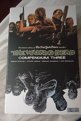 The Walking Dead Compendium 3, collects issues 97-144