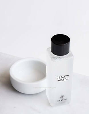 SON & PARK Beauty Water - 60ml Toner Cleansing Water - Travel Size *UK Seller*