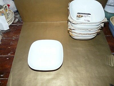 denby white squares cereal / soup bowl brand new / unused
