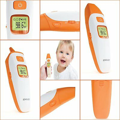 Konquest Medical Digital Thermometer - Ear, Forehead and Object - Multi Mode