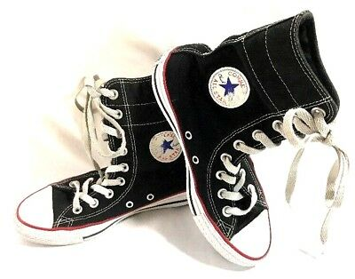 494fbfda86c767 Converse Women s All Star Chuck Taylor High Tops Size 6 Black Sneakers Lace  Up