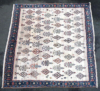 Tapis ancien rug oriental orient tribal ethnique Persan Perse Shirâz 20e siecle
