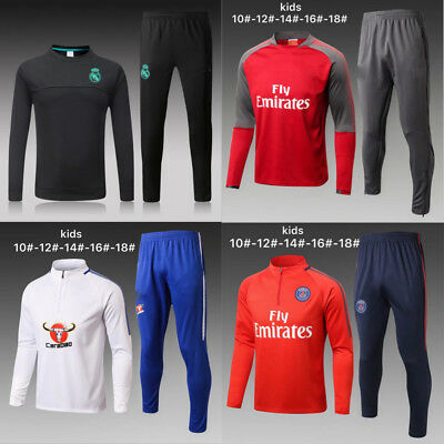 New Kids Boys Soccer Tracksuit Survetement Football Sportswear Training Suit