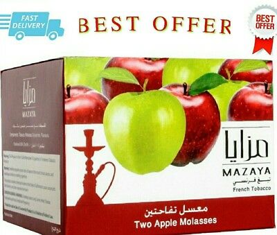 MAZAYA TOBACCO 1 KG 250 g 50 g Flavour HOOKAH SHISHA MOLASSES Flavors two apples