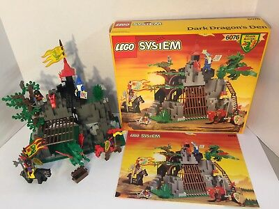 Vintage 80s Lego 6080 Kings Castle 999 Complete Wbox And
