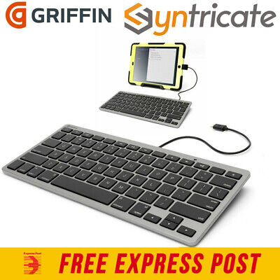 GRIFFIN WIRED KEYBOARD FOR iPHONE/IPAD/IPODS WITH LIGHTNING CONNECTOR