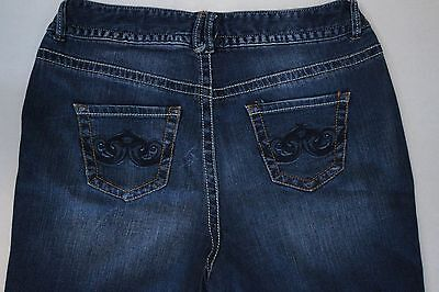 Lane Bryant Boot Cut Jeans Women's Size 16 Dark Wash Denim