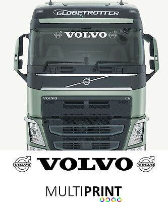Volvo Truck Cab Windscreen Sticker Lorry Glass Sun Visor Sun Strip LOR7