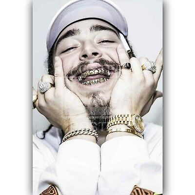 Custom Post Malone Silk Poster Wall Decor