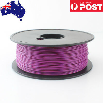 New 3D Printer Printing Filament ABS 1.75mm 1KG Spool Purple Color