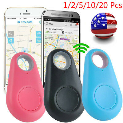 Bluetooth Smart Mini Tag GPS Locator Pet Child Wallet Key Finder Alarm Tracker