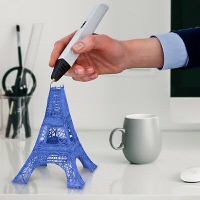 3D Doodle Printing Pen LCD + 3 FREE ABS Filament + FREE STENCILS
