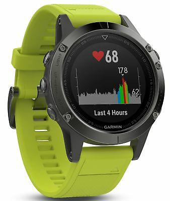 Garmin Fenix 5 Multisport GPS Watch with Outdoor Navigation and Wrist-Based H...