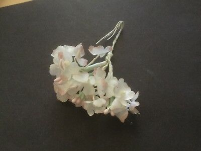 1 Bunch/ 19 Flower heads on wire stems/ Bridal Home Decor Craft Pink