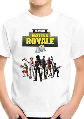Fortnite Inspired Battle Royale Gaming Unisex Cool Kids Boys Girls T shirt 775
