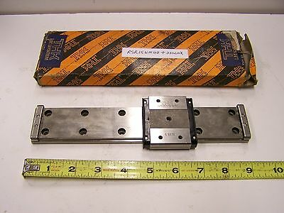 THK RSR15WMUU+230LMX Linear Bearing Guide Block and Guide Rail RSR15WM Used