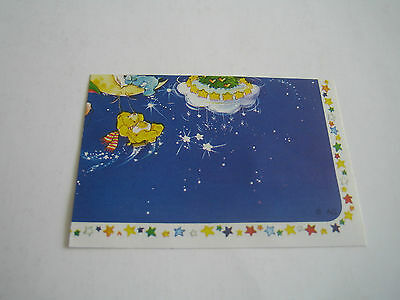 Vintage 1985 Panini Care Bear Sticker #92***american Greetings Corp***
