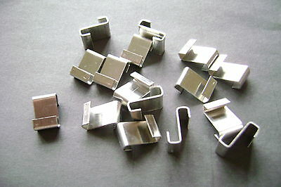 GREENHOUSE Z CLIPS ALUMINUM CHOOSE FROM 20 to 500 SEE ALSO LINKS TO ALL W + Z