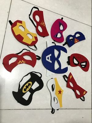 2018 new Superhero Capes Masks Dress Up Costumes for Kids Birthday Party