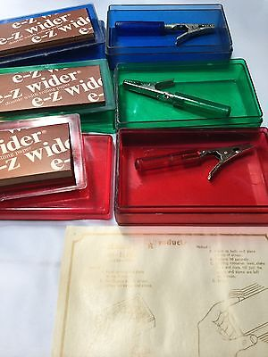 E-z wider Hi Flyer Rolling Papers 1 Cigarette Roach Clips  Rare Made In USA