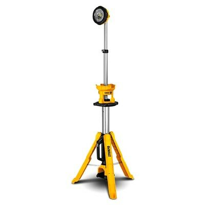 DeWalt DCL079-XJ 18V XR Li-ion Cordless LED Tripod Light - Skin Only