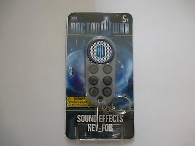 Doctor Who Sound Effects keychain Fob