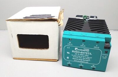 new invensys rvd3 6v75t l solid state relay eurotherm