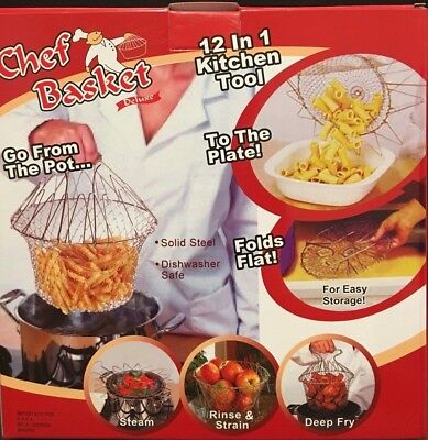 ANTI HOT-Stainless Steel-Chef Basket