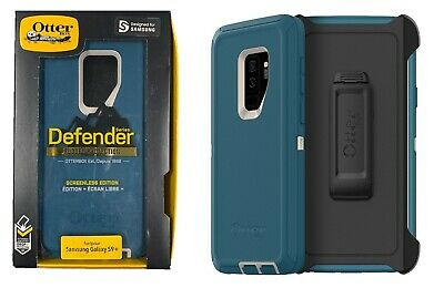 Otterbox Defender Case with Belt Clip Holster for Samsung Galaxy S9 Plus Big Sur
