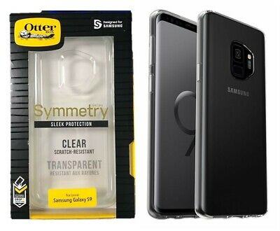 OtterBox Symmetry Series Case Slim Cover for Samsung Galaxy S9 Clear OP