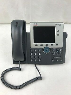 Lot of 10 Cisco 7945G CP-7945G Unified IP VoIP Phones- Used
