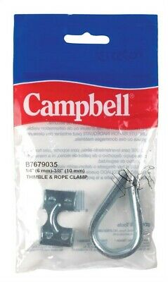 Campbell Thimble And Rope Clamp