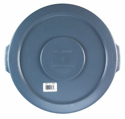 Rubbermaid Refuse Container Lid 10 Gal Plastic Gray