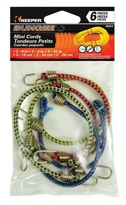 Keeper Corporation Mini Bungee Cords 10 In.